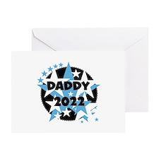 Stars Daddy 2016 Greeting Card