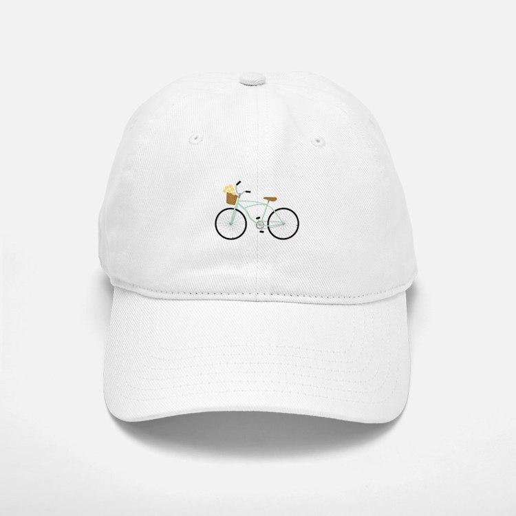 Bicycle Flower Basket Baseball Baseball Baseball Cap