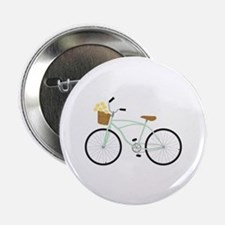 """Bicycle Flower Basket 2.25"""" Button (100 pack)"""