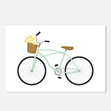 Bicycle Flower Basket Postcards (Package of 8)