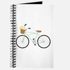 Bicycle Flower Basket Journal