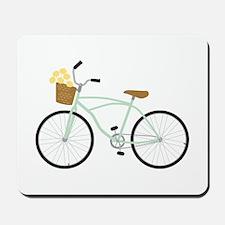 Bicycle Flower Basket Mousepad