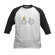 Bicycle Flower Basket Baseball Jersey