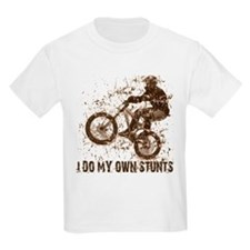 Mountain Bike, BMX - Stunts Kids T-Shirt