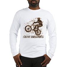 Mountain Bike, BMX - Stunts Long Sleeve T-Shirt