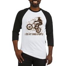 Mountain Bike, BMX - Stunts Baseball Jersey