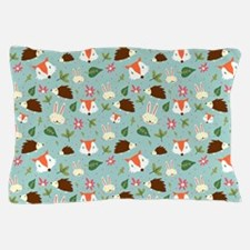Forest Animals Pattern Pillow Case