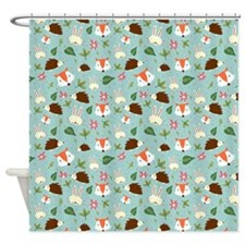 Forest Animals Pattern Shower Curtain