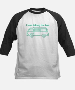 Taking the bus Baseball Jersey