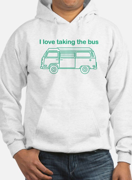 Taking the bus Hoodie