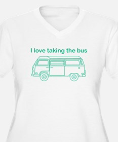 Taking the bus Plus Size T-Shirt