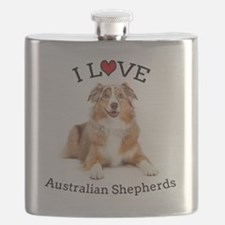 I love Aussies Flask
