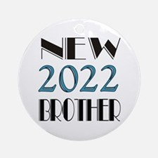 2016 New Brother Round Ornament