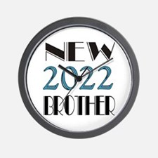 2016 New Brother Wall Clock