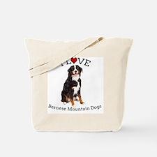 I love Berners Tote Bag