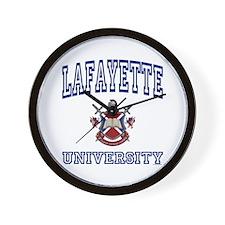 LAFAYETTE University Wall Clock
