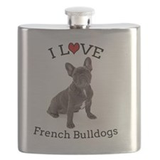 Love Frenchies Flask