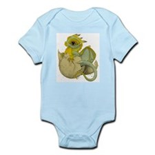 Unique Green dragons Infant Bodysuit