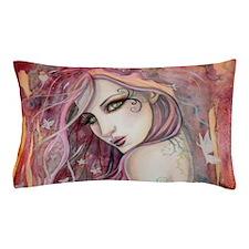The Shy Flirt Fairy Art Pillow Case