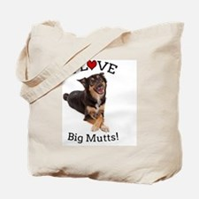Love Big Mutts Tote Bag