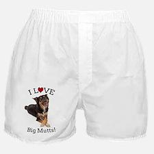 Love Big Mutts Boxer Shorts