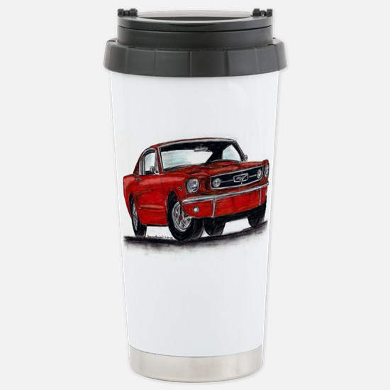 Ford Mustang Stainless Steel Travel Mug