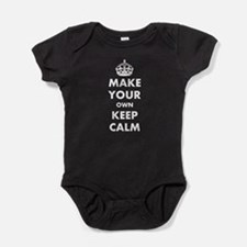 Make Your Own Keep Calm and Carry On Baby Bodysuit