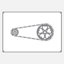 Bicycle Gears Banner
