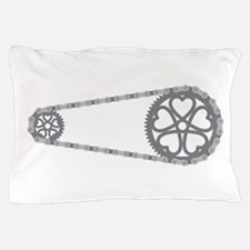 Bicycle Gears Pillow Case