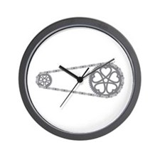 Bicycle Gears Wall Clock