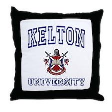 KELTON University Throw Pillow