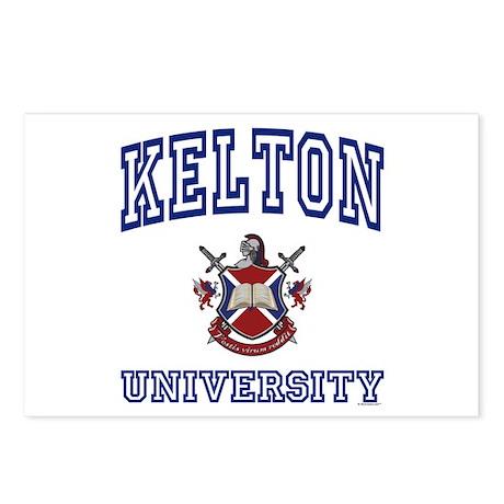 KELTON University Postcards (Package of 8)