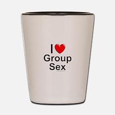 Group Sex Shot Glass