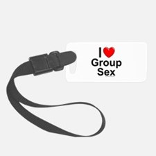 Group Sex Luggage Tag