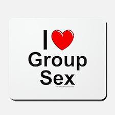 Group Sex Mousepad