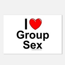 Group Sex Postcards (Package of 8)