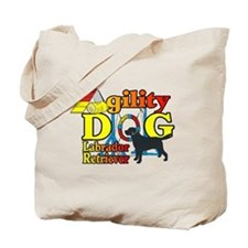 Labrador Retriever Agility Tote Bag