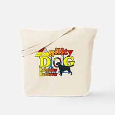 Labrador Retriever Agility Tote Bag