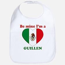 Guillen, Valentine's Day Bib