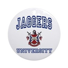 JAGGERS University Ornament (Round)