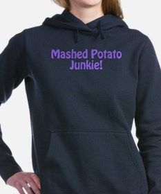 Mashed Potato Junkie Women's Hooded Sweatshirt