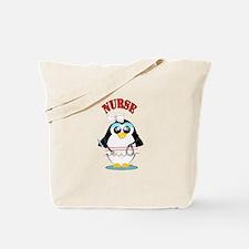 Nurse Penguin Tote Bag