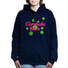 Cornhole Bitch Women's Hooded Sweatshirt