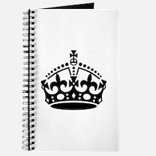 Keep Calm Crown Journal