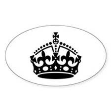 Keep Calm Crown Decal