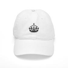 Keep Calm Crown Baseball Cap