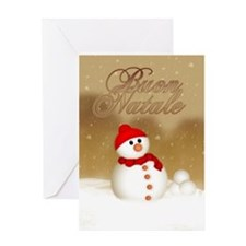 Italian Christmas Card - Buon Greeting Cards