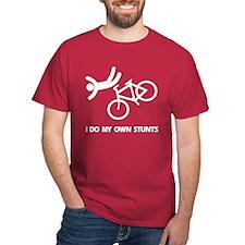 Bike, bike, funny biker stunt T-Shirt