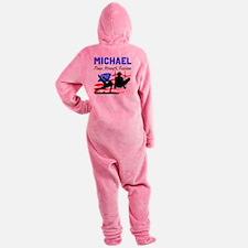 GYMNASTICS CHAMP Footed Pajamas