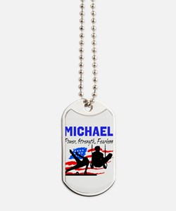 GYMNASTICS CHAMP Dog Tags